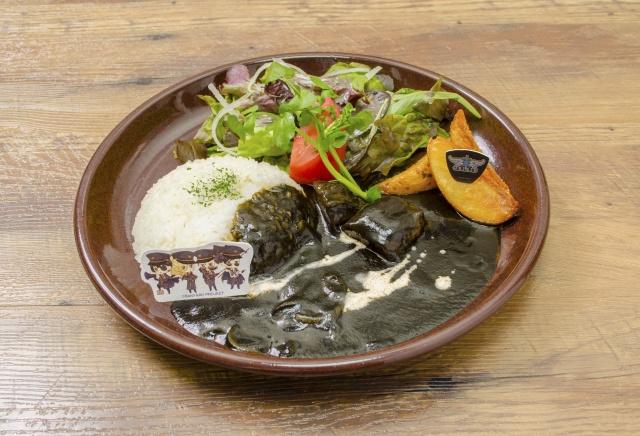 ▲漆黒のhash and rice