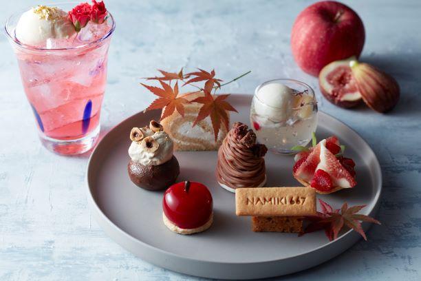 ハイアット セントリック 銀座 東京 美食の秋を表現した6種のデザートが楽しめるヴィーガン対応のケーキセ...