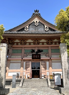 ■英霊堂外観:四天王寺提供