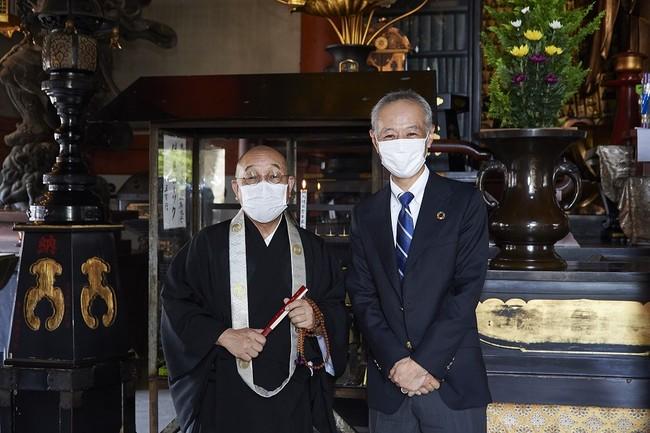 ■英霊堂にて:瀧藤執事長と森下
