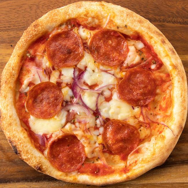 イタリアンサラミのピッツァ 530円