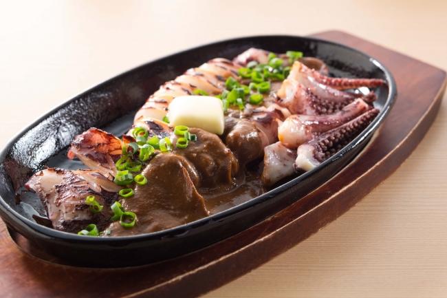 真イカのゴロ焼き599円(税抜)
