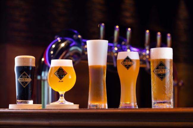 厳選したビールの数々