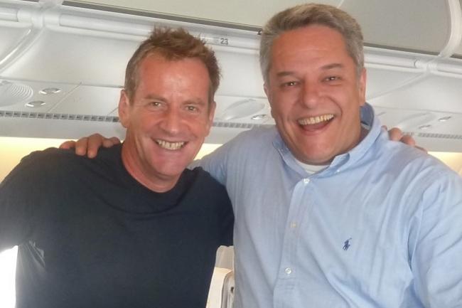 左:Claudio Dalla Longa氏 , 右:Massimo Pinazza氏
