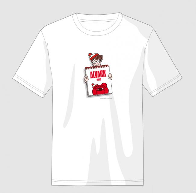 ALVARK2019-20 ウォーリーをさがせ!コラボTシャツ 価格:¥2,750(税込)