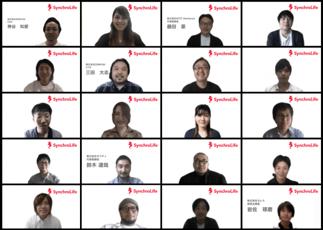 株式会社GINKAN集合写真