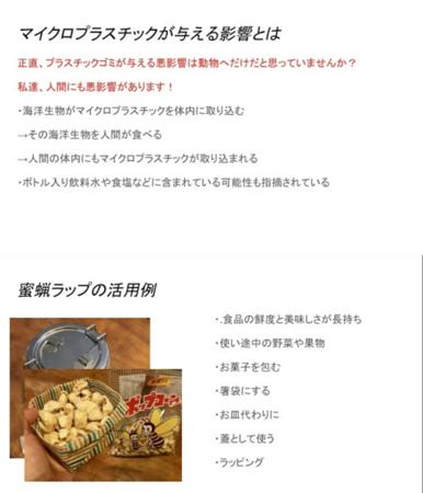プラスチック問題に関するウェビナーと蜜蝋(みつろう)ラップ作りを兼ねたオンラインイベント(2020年11月28日実施)