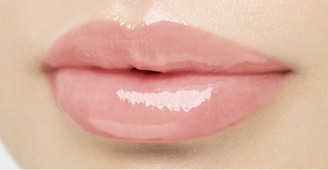 パラドゥ サクラヴェールリップ <PK01 ほんのり桜色> 仕上がりイメージ