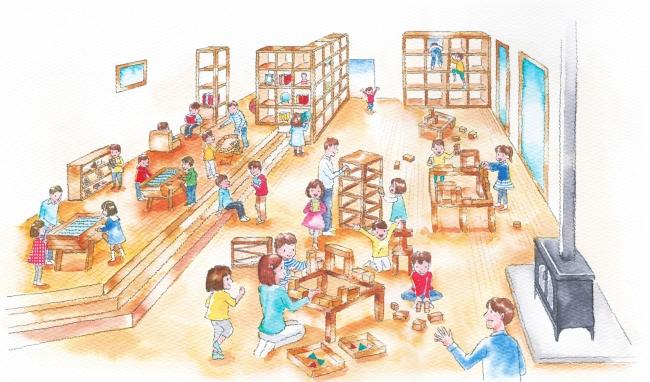 福井県池田町に北陸最大級の屋内木育広場「あそびハウス こどもと森」2020年4月下旬オープン