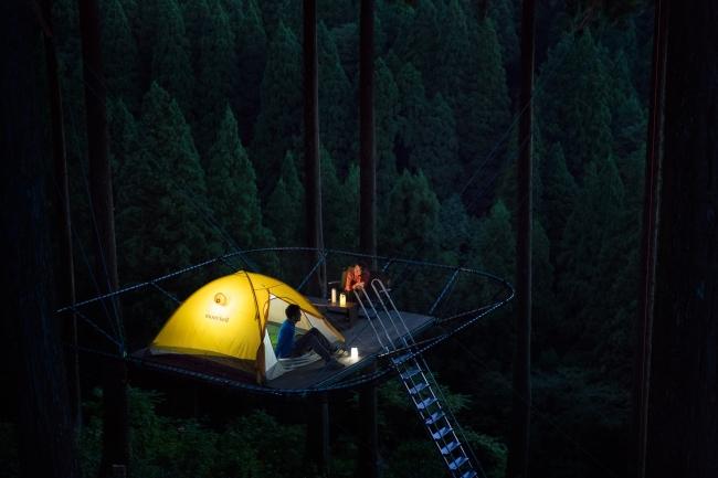 夜は川の音と風の音を聞きながら静かにお過ごしください