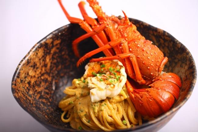 メニュー例1: 伊勢海老のパスタ(三重テラス レストラン)※写真はイメージです。