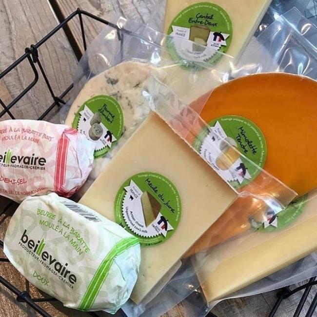 ベイユヴェール チーズ・バター