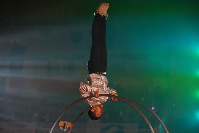 秋田ノーザンハピネッツ(男子プロバスケットボール)ホームゲームオープニングパフォーマンス(2019年1月16日@秋田県立体育館)