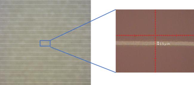 「Super Inkjet Printer」による超細線描画