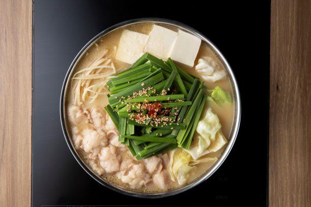 もつ鍋田しゅう一番人気の味噌味