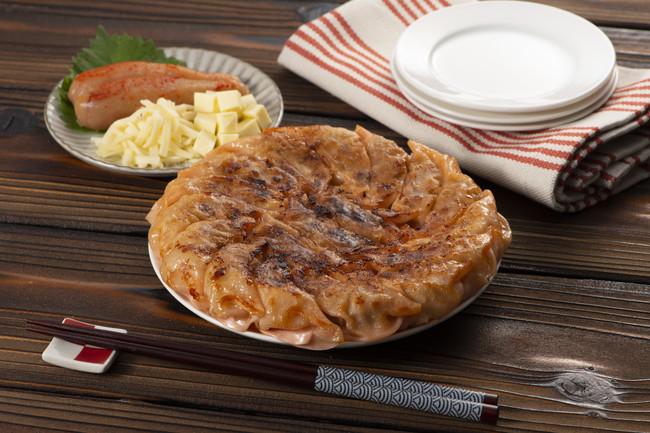 明太チーズ餃子