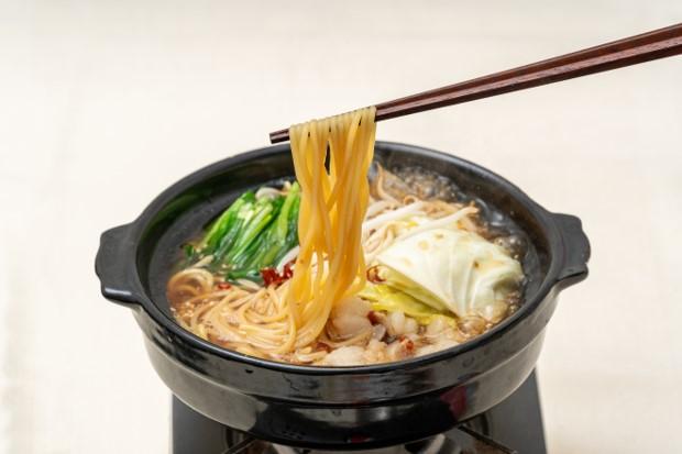 〆はちゃんぽん麺