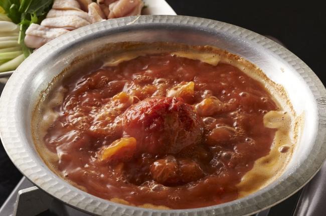 水炊きトマト鍋