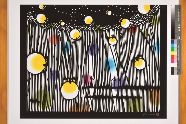 柳沢京子「抒情する蛍」1992年