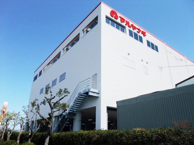 社工場蒸し豆新工場(兵庫県加東市沢部655番)