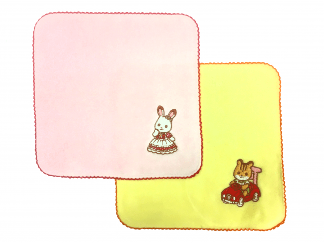 刺繍ハンドタオル