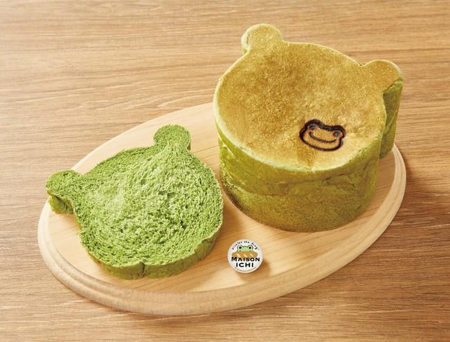 ピクルスの抹茶グリーンブレッド
