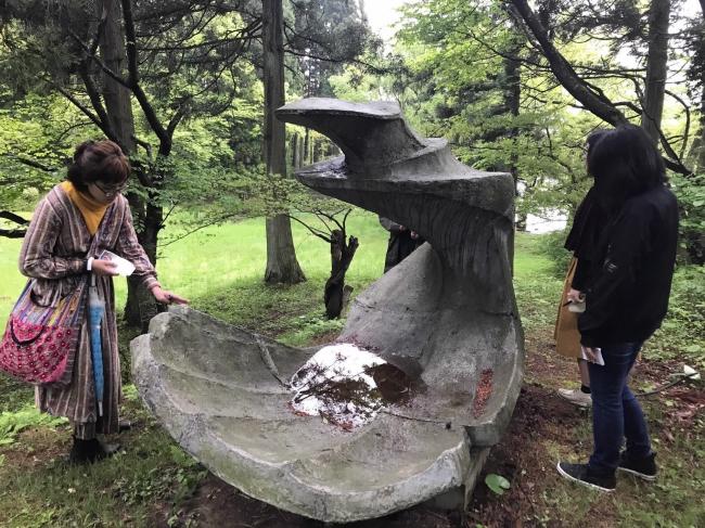 彫刻の森にある作品《海》