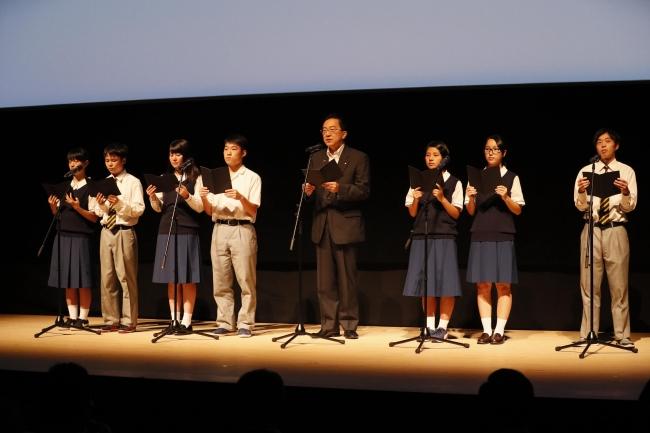 知事と高校生による三陸防災復興プロジェクト2019実施宣言