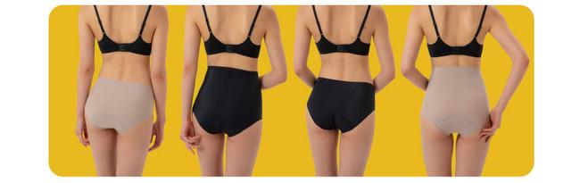 パンツスタイルでもひびきにくい、自由にオシャレを楽しめるようなデザインとなっております。