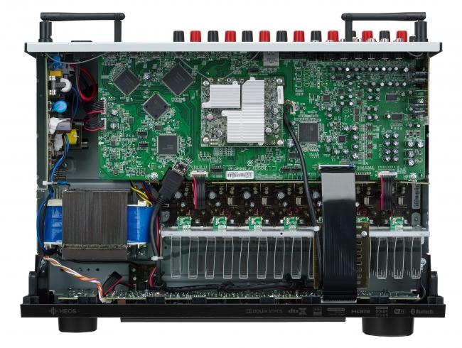 AVR-X1600H top open