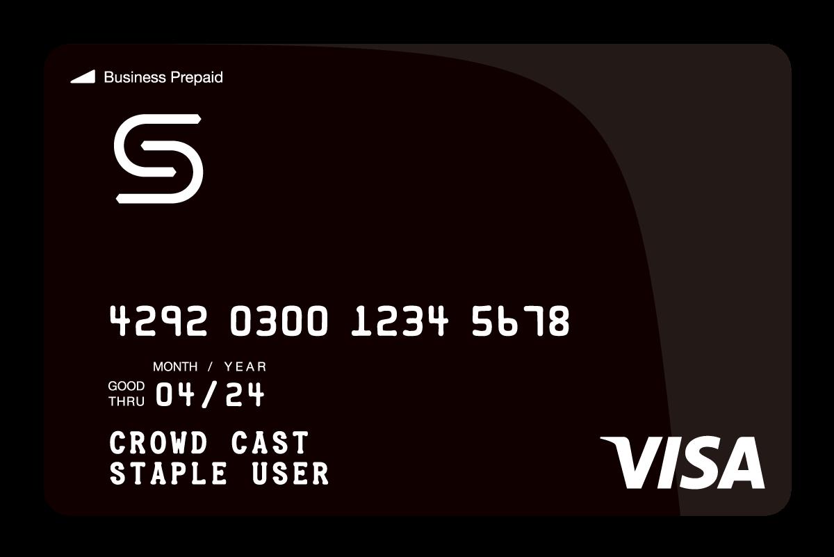 クラウドキャスト、国内初、経費精算サービス一体型法人プリペイドカード「Staple カード」を正式発表