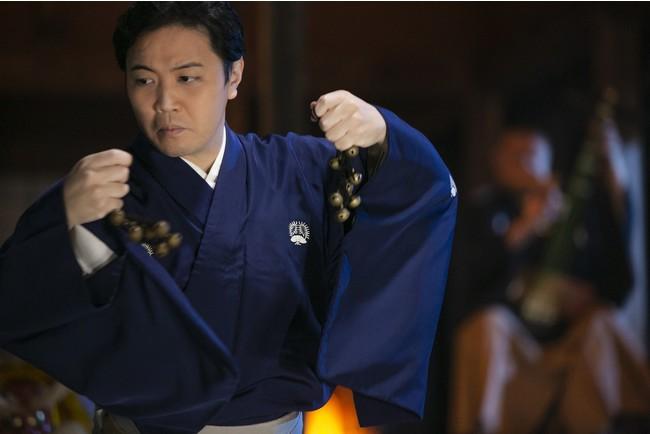 「シルクロード~春夏秋冬によせて~」(日本舞踊・花柳源九郎)画像提供:芸団協)
