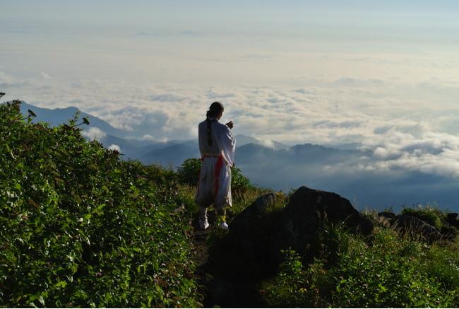 日本遺産 出羽三山「生まれかわりの旅」イメージ 画像提供:芸団協