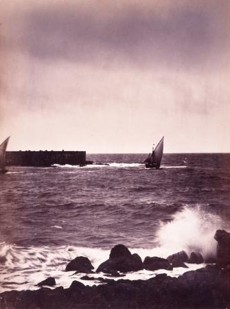 ギュスターヴ・ル・グレイ《荒波》1856年