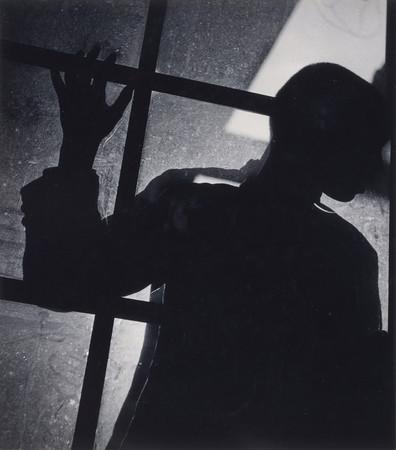 植田正治《シルウエット》1936年 島根県立美術館蔵