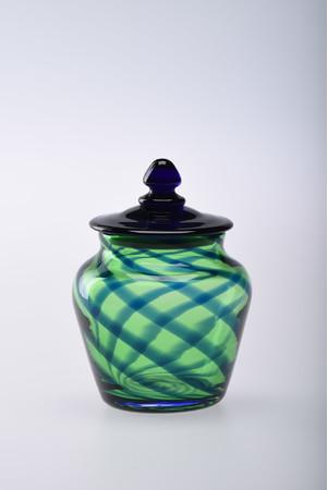 舩木倭帆《丸文栓付瓶》 1983(昭和58)年頃 島根県立美術館蔵