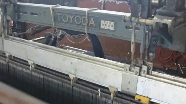 デニムの黄金期とも言われる1950年代から稼働し短い期間のみ生産された力織機