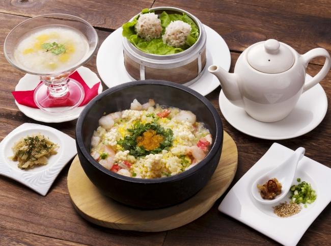 石焼き海鮮スープ炒飯