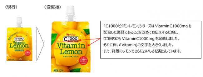「C1000ビタミンレモンゼリー」パケージデザイン