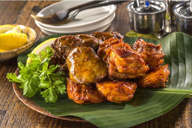 印度カリー子さん監修「オーブンで焼くレバー&チキンティッカ」