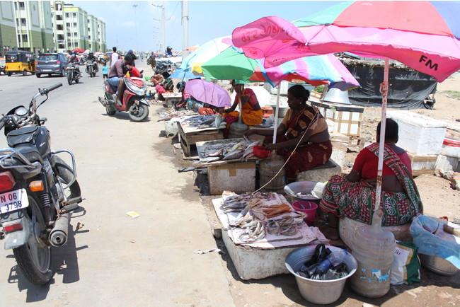 インドの朝市。印度カリー子さんがインドを訪れた際に撮影(この他、印度カリー子さんが撮影した写真を複数紹介)