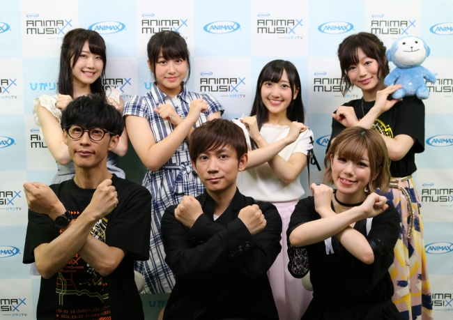 『「ANIMAX MUSIX 2018-2019 supported byひかりTV」開催決定!第1弾出演アーティスト発表特番』を配信!