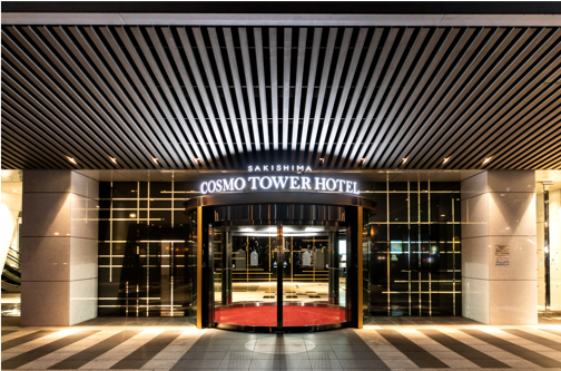 【 ホテルエントランス 】