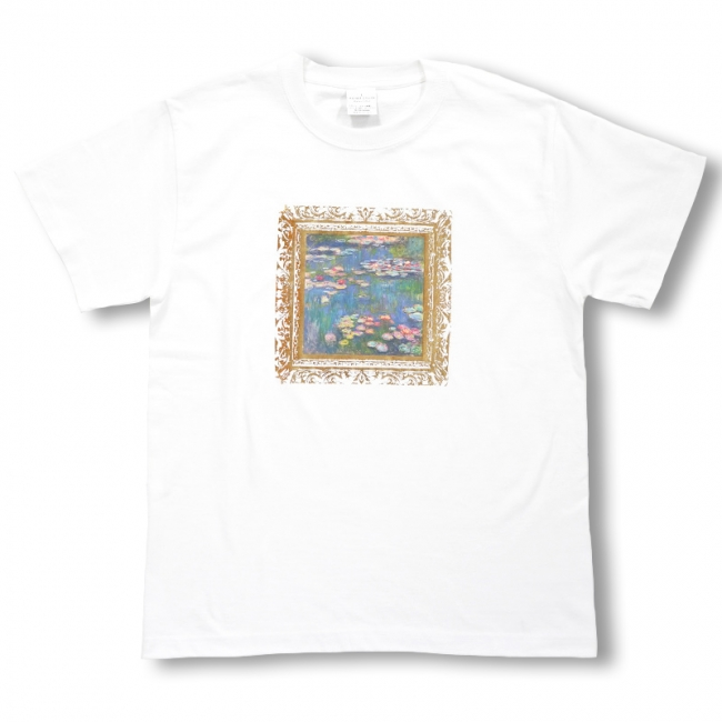 睡蓮Tシャツ 4,800円 +税