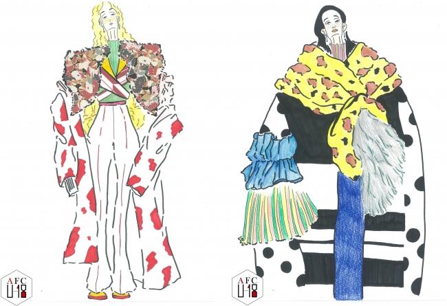 黒田杏実(北海道芸術高等学校)『tacky fashion』