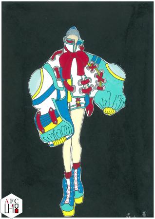 森山夢(岡山県立岡山南高等学校)『space crash』