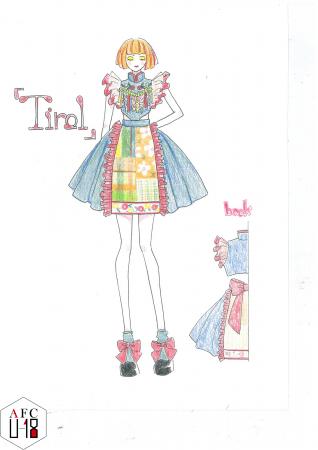 名蔵愛美(ルネサンス高等学校)『Tirol』