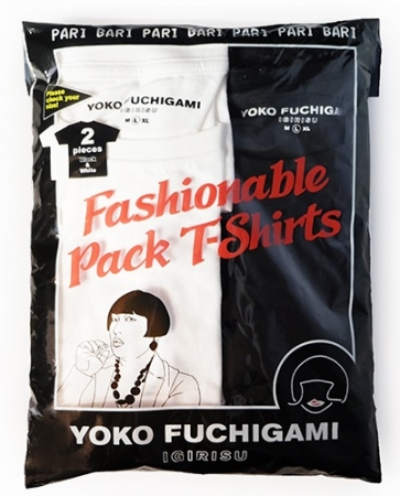 YOKO FUCHIGAMI パックTシャツ