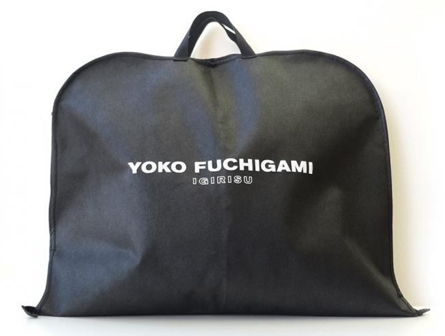 YOKO FUCHIGAMI ガーメントバッグ(表)