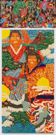 上:Keiichi Tanaami/下:Koichi Sato